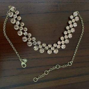 J. Crew Factory Crystal Bubbles Necklace